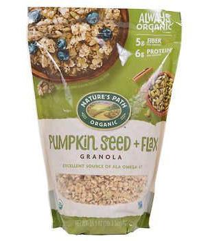 Granola de semillas de calabaza y linaza 1 kg.