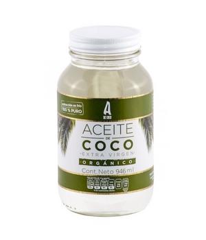 Aceite de coco extra virgen orgánico 866 gr