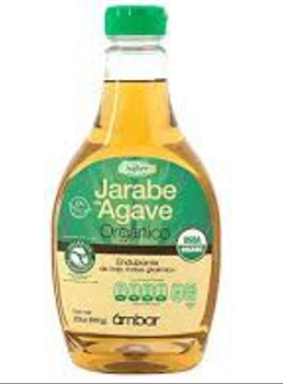 Endulzante Jarabe de Agave organico Ambar. 660 gr.