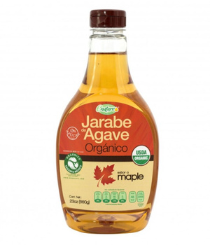 Endulzante Jarabe de Agave Organico Maple. 660 gr.