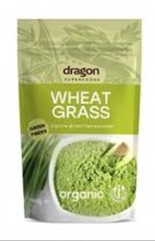 Polvo de pasto de trigo orgánico Wheatgrass. 150 gr.