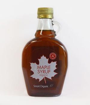 Endulzante Syrup Maple organico. botella de 250 gr.