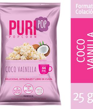Popcorn coco vainilla. 25 gr.