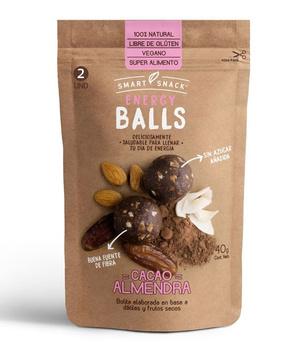 Bolitas energeticas de Cacao Almendra 40 gr.