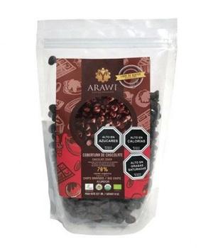 Cobetura de Chococolate Gotas Pequeñas 70% Cacao 227 gr