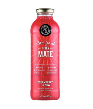 Bebida Yerba Mate Limonada frutilla 475 ml