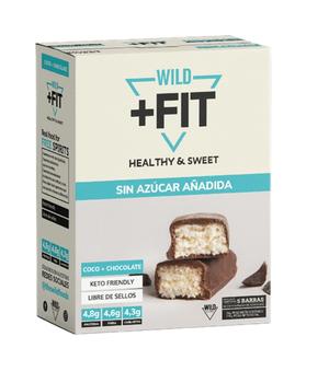 Wild fit coco caja 5 unidades 35 gr.