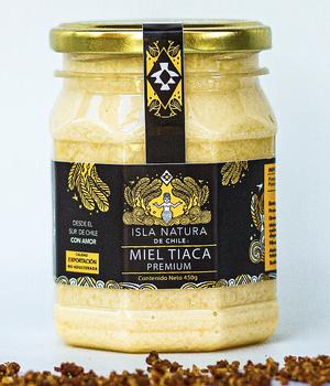 Miel Premium Tiaca Isla Natura 450 gr.