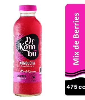 Kombucha Mix de Berries 475 cc.