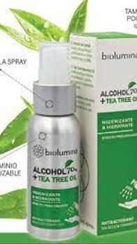Alcohol en Spray con Tea Tree Oil 65 ml.
