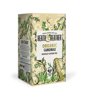 Infusión de Hiervas orgánicas manzanilla camomile 20 Bolsitas
