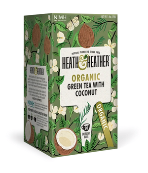 Te verde Orgánico con Coco 20 bags