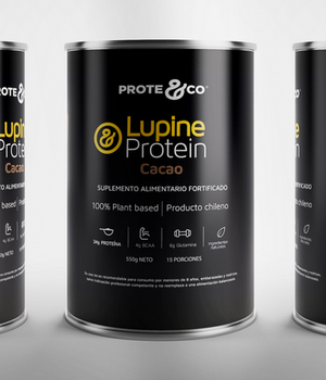 Proteina Lupine Platano 550 gr. Gratis un Shakers