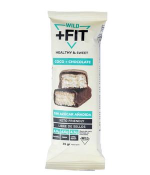 Barra Wild fit Chocolate coco  35 gr.