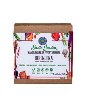 Hamburguesa Vegana Premium Berenjena 2 unidades 240gr