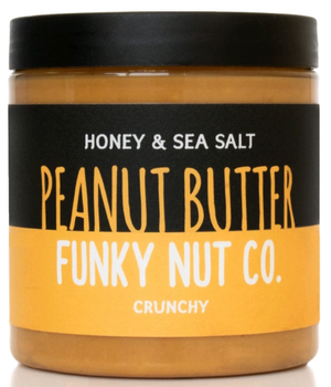 Mantequilla de Maní Miel con Sal de Mar