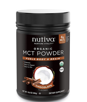 MCT organico en polvo sabor chocolate 300 grs.