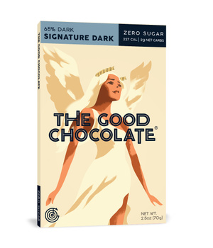 Chocolate Negro en Barra 65% cacao 70 gr.