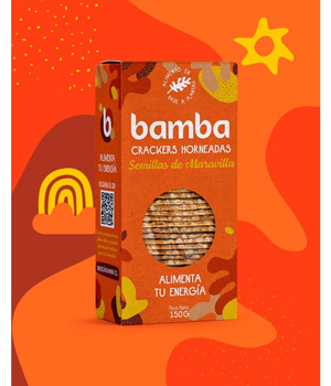 Crackers Semillas de Maravilla 150grs. Bamba