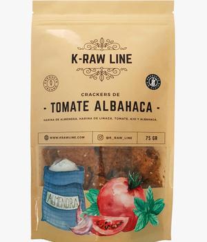 Crackers Tomate Albahaca 75 gr