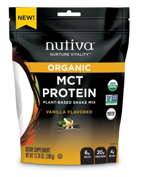MCT Proteina Organica sabor Vainilla 390 gr.