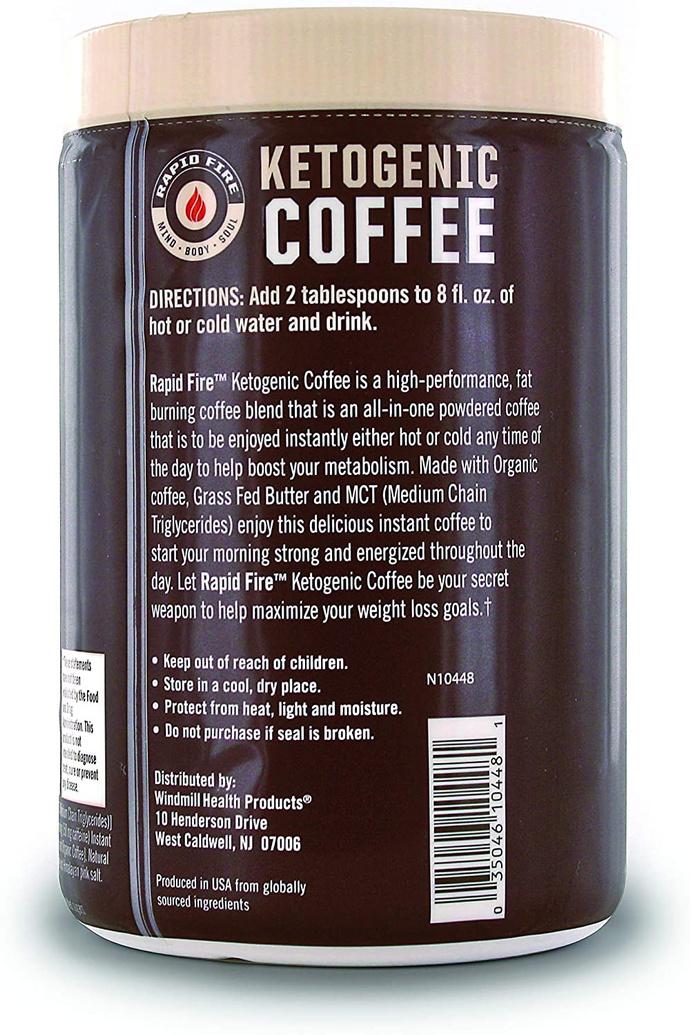 Keto Coffee mezcla original. 225 gr.