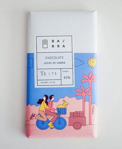 Chocolate en Barra de Leche de Cabra 100 gr.
