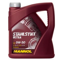 LUB MANNOL 5W50 SL/CF STAHLSYNT ULTRA  4L