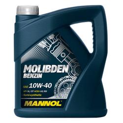 LUB MANNOL 10W40 SL/CF MOLIBDEN BENZIN 4L