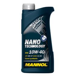 LUB MANNOL 10W40 SM/CF NANO TECHNOLOGY 1L