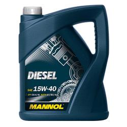 LUB MANNOL 15W40 CG-4/SL DIESEL 5L