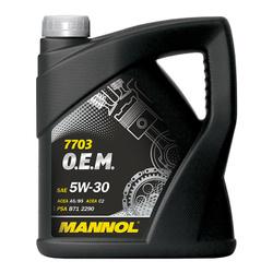 LUB MANNOL 5W30 ACEA A5/B5/C2 O.E.M. PEUGEOT/CITRO�N 4L