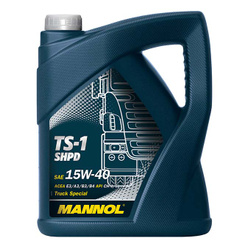 LUB MANNOL 15W40 CH-4/SJ TS-1 ACEA E2/B3/A2 SHPD  5L