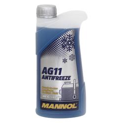 LUB MANNOL COOLANT AG11 LONGTERM (-40) 50% CONCENTRADO (AZUL)  5L