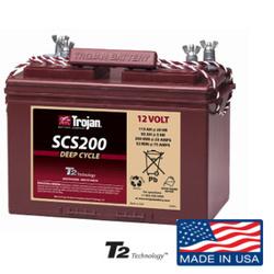 BATERIA TROJAN SCS-200 12V 115 C20 TERMINAL Pernos Dual