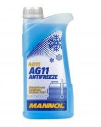 LUB MANNOL COOLANT AG11 LONGTERM (-30ºC / +125ºC) (AZUL)  1L