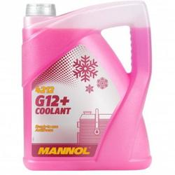LUB MANNOL COOLANT AG12+ COOLANT DILUIDO (-30ºC / +125ºC) (ROJO)  5L