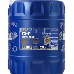 LUBRICANTE MANNOL TS-7 10W40 CK-4/CJ-4 ACEA E9-16/E7/E6 UHPD BLUE 20 LITROS