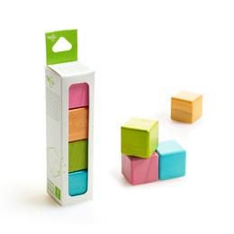 Set de 4 cubos
