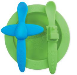 Set bowl y cucharas de silicona