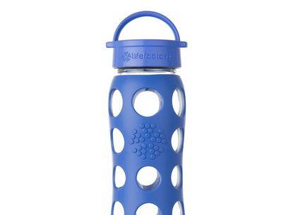 Botella de vidrio 650 ml. con tapa clásica