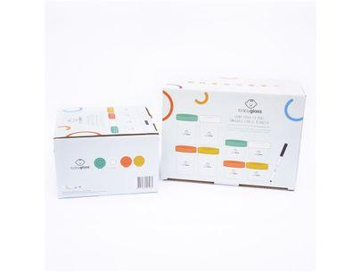 Pack 2 Set Babyglass: Set 4 contenedores 240 ml y 4 contenedores 120 ml + Set 4 contenedores 240 ml