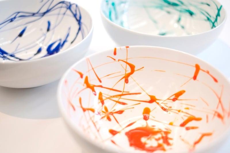 Pendulum Painting Bowl