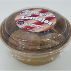 Chips (galletitas para untar) de lentejas (70 gr)