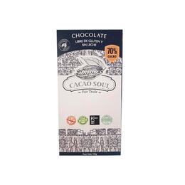 Chocolate en barra 70% 100g