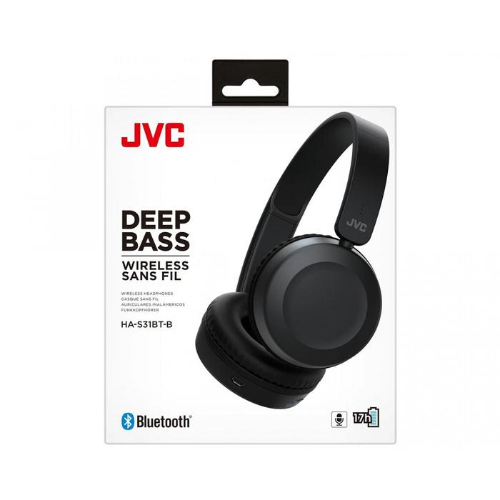Audífonos Bluetooth HAS31BTB Negro