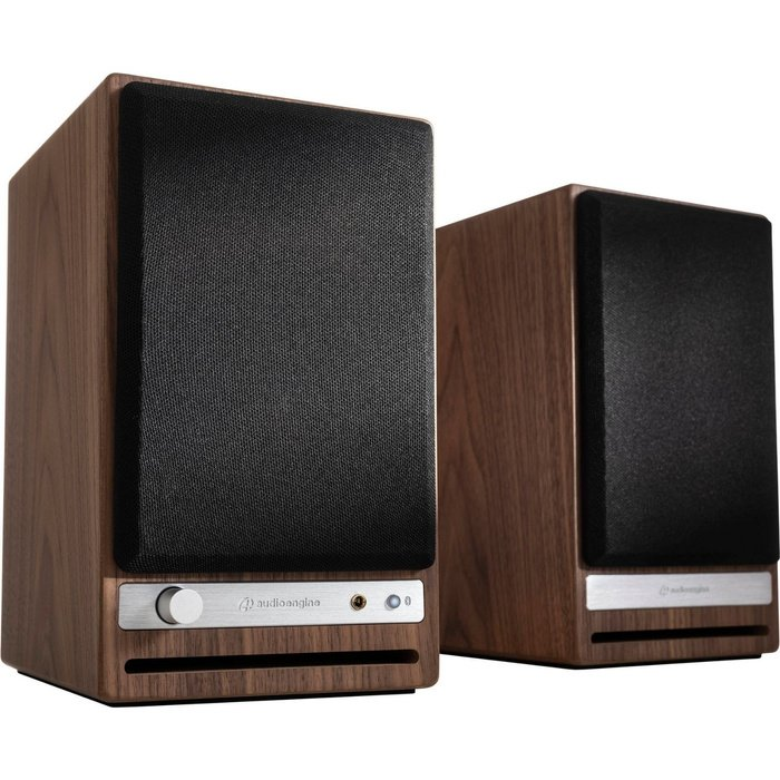 Parlantes Wireless HD4 Walnut