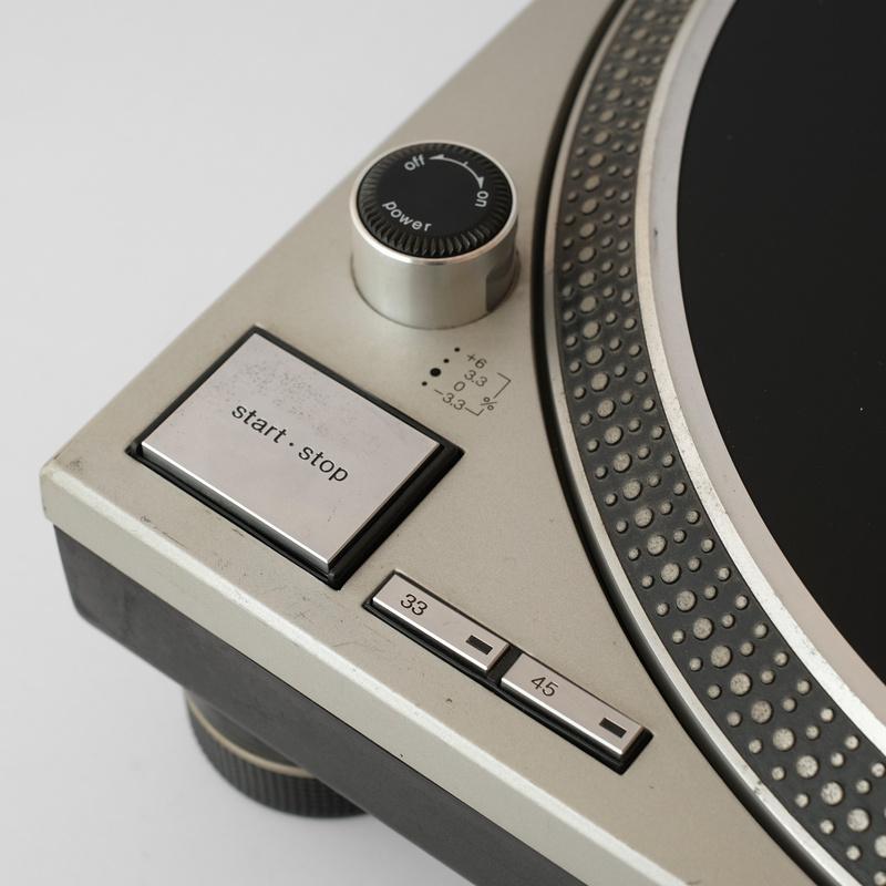 Tornamesa SL-1200 MK3D Clase B Plateado