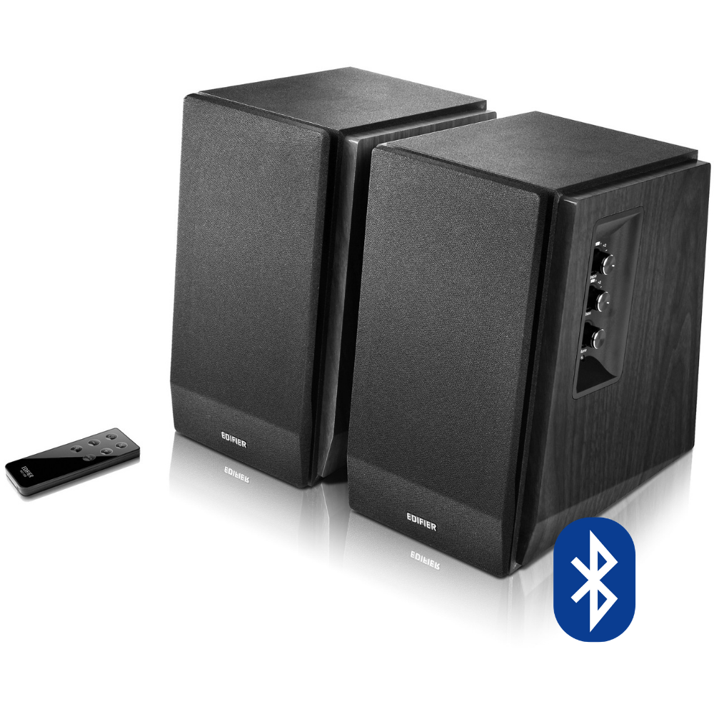 Parlantes Bluetooth R1700BT Negros