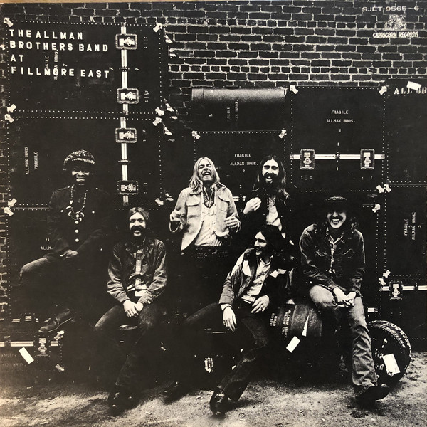 The Allman Brothers Band At Fillmore East (OBI, JP)